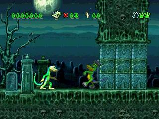 Screenshot Thumbnail / Media File 1 for Gex [NTSC-U]